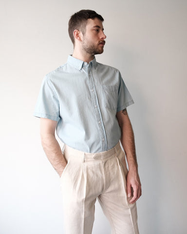 Esquina Shirt, Washed Indigo