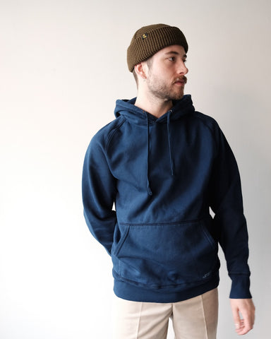 Ditch Hooded Sweatshirt, Indigo