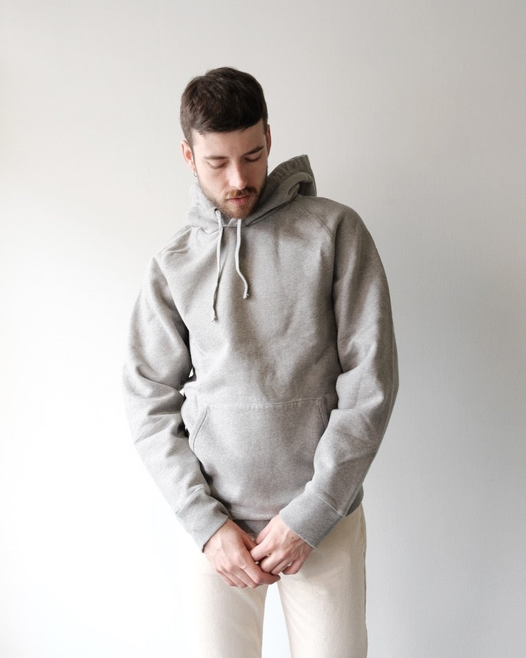 Ditch Hooded Sweatshirt, Heather Grey