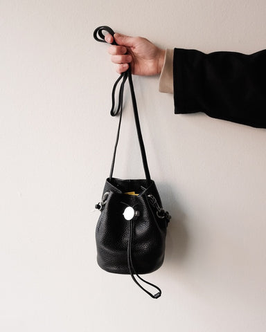 Drawcord Bucket Bag