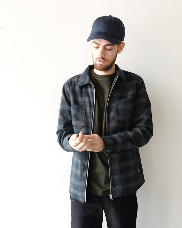 Sigurd Plaid Zip Up