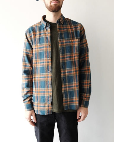 Munk Plaid Button Down
