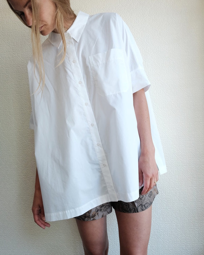 Noria Shirt, White