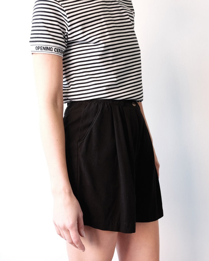 Sandra Shorts, Black
