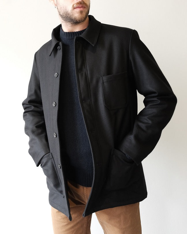 VETRA Wool Jacket, Black