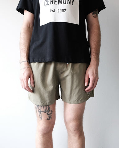 Moeller Swim Shorts, Army Green