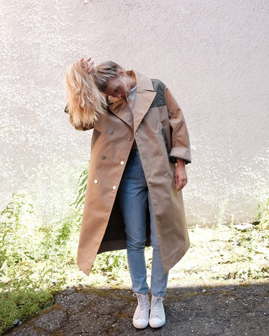 Double Cotton Trench
