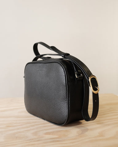 The Stowe Mia Bag, Black Milled