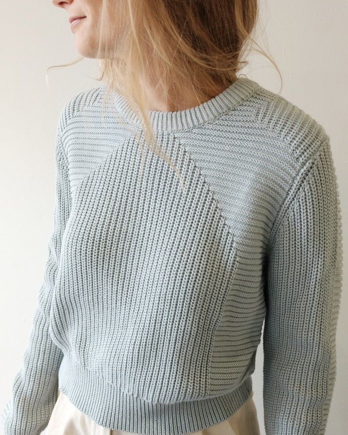 Julian Knit, Steel Blue
