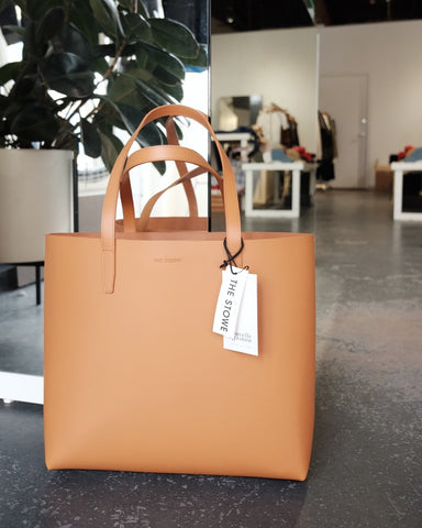 The Stowe Katie Bag, Tan Veg