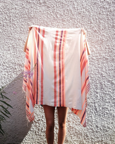 Turkish Beach Towel, Rose