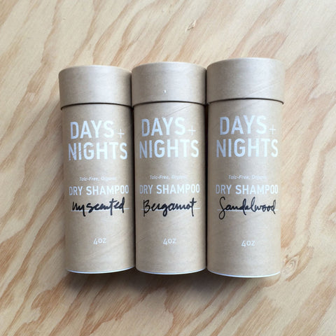 Days+Nights Dry Shampoo