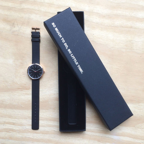 I Love Ugly / Ernest Watch Black