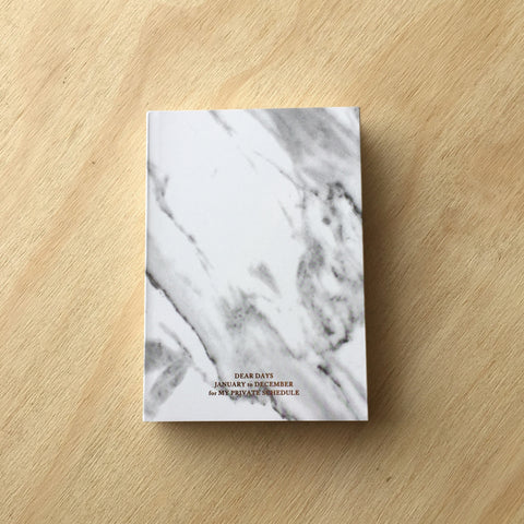 Marble Open-Dated Planner