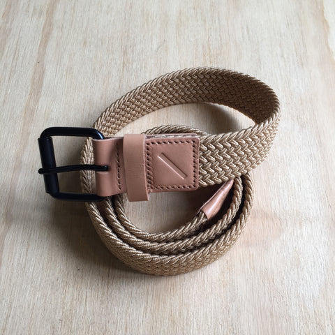 Saturdays NYC Shane Belt, Raw Vegetable Tan