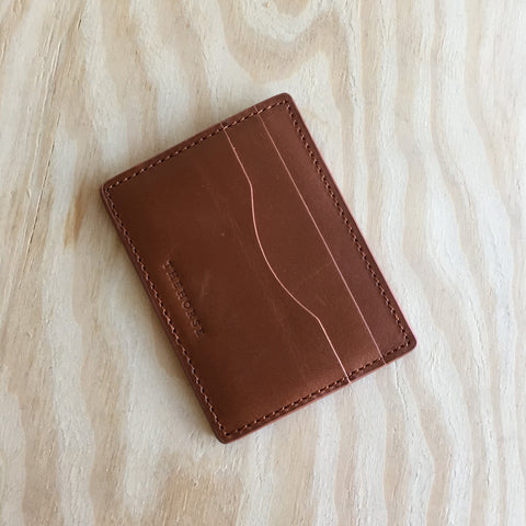 The Horse / Flatboy Wallet / Tan
