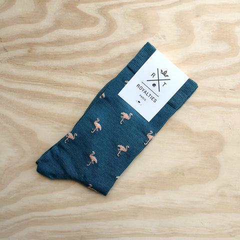 Royalties Flamingo Socks
