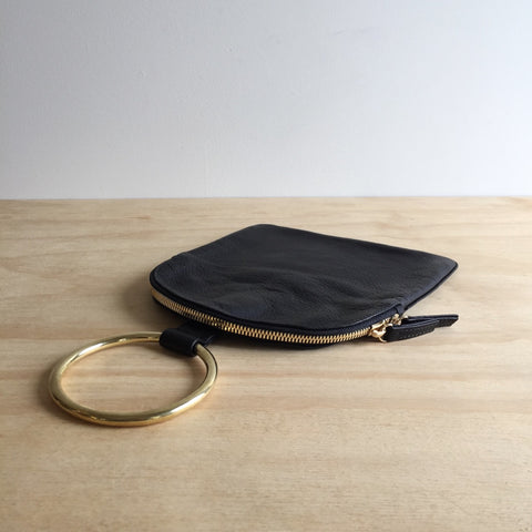 Ring Pouch Large, Black
