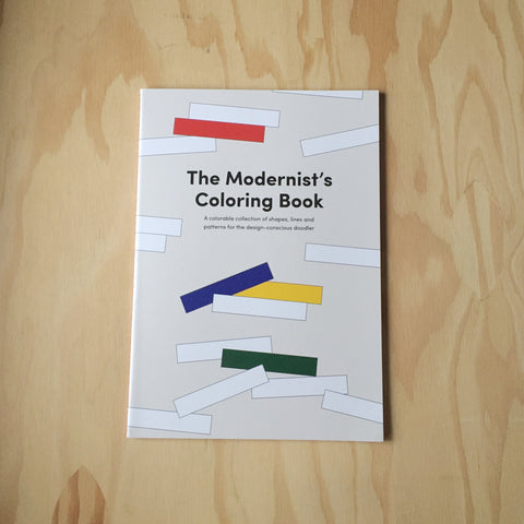Modernist Colouring Book