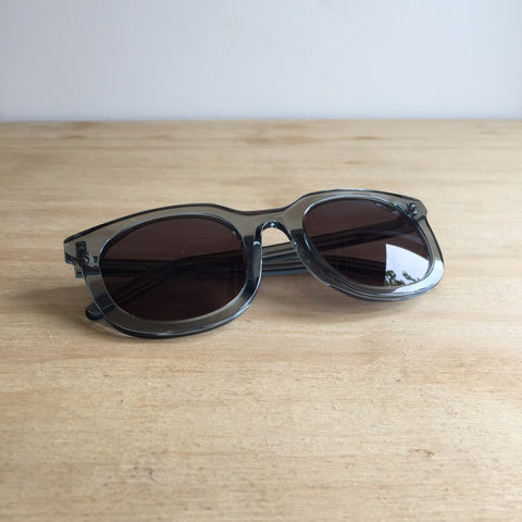 Han Kjobenhavn, Ace Sunglasses, Grey Transparent