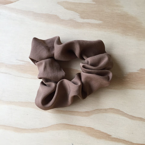 Scrunchie, Caramel Brown