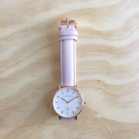 THE HORSE Classic / Rose Gold / Baby Pink Leather
