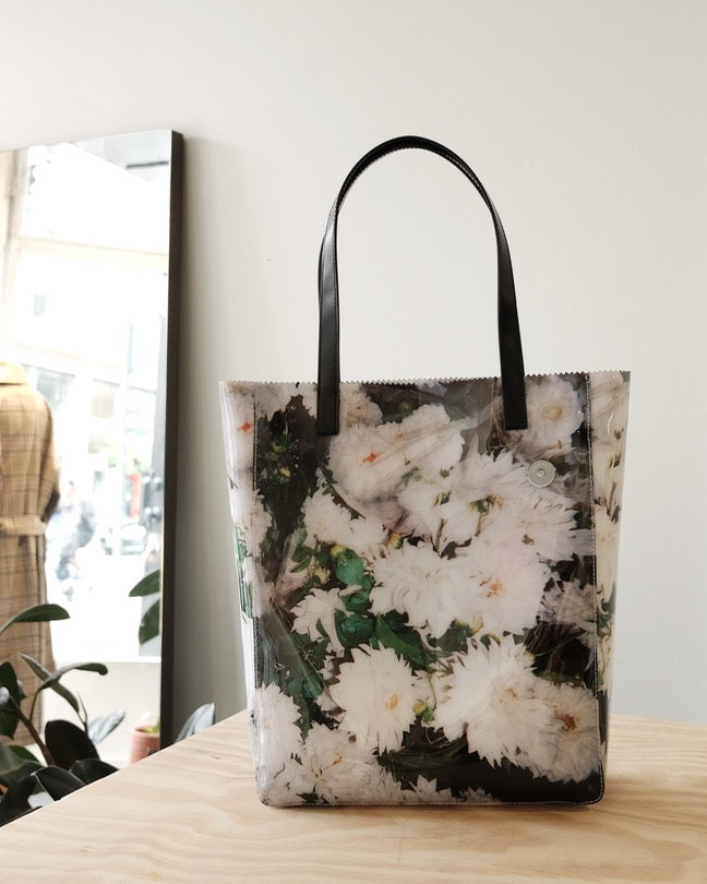 Floral Pinch Tote