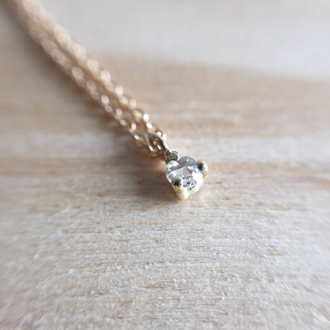Diamond Rose Cut Necklace