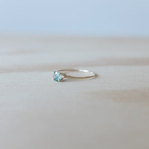 Emerald Princess Ring, 14K Gold