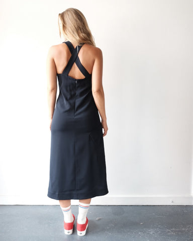 Crossback Midi Dress
