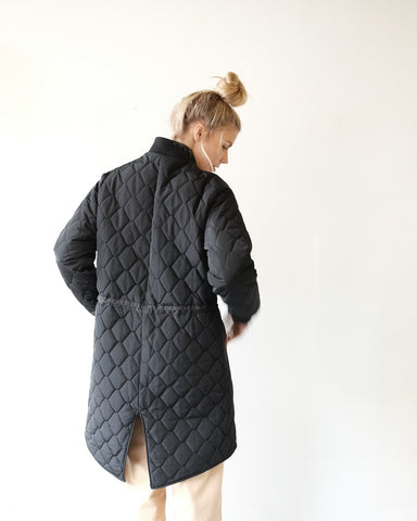 NOMIA Quilted Bomber