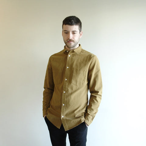 Gold Two Pocket Button Down