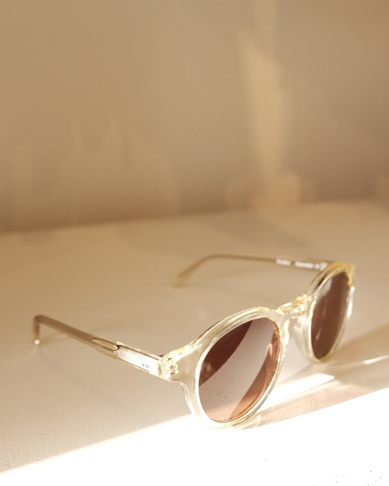 Zinedine Sunglasses, Melted Butter