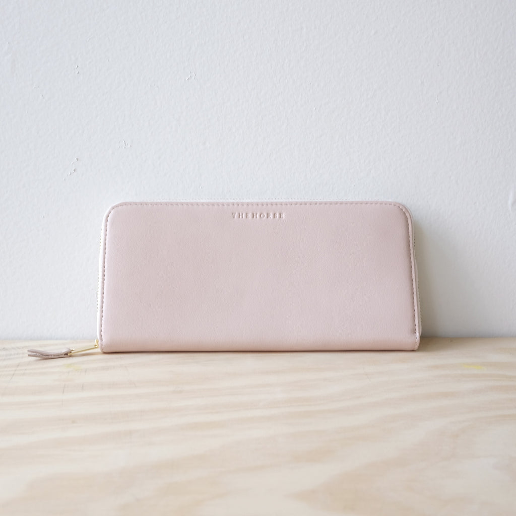The Horse Slimline Wallet, Baby Pink
