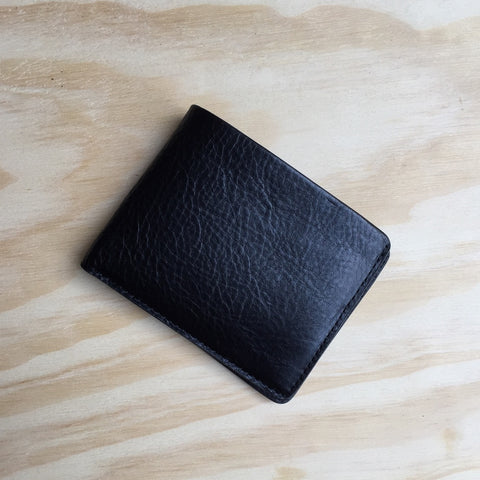 The Horse Bi-Fold Wallet, Black