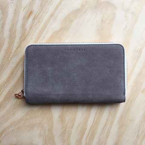The Horse Block Wallet, Grey