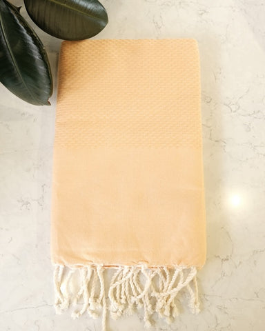 Turkish Beach Towel, Sorbet