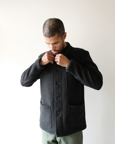 Anthracite Double Wool Jacket