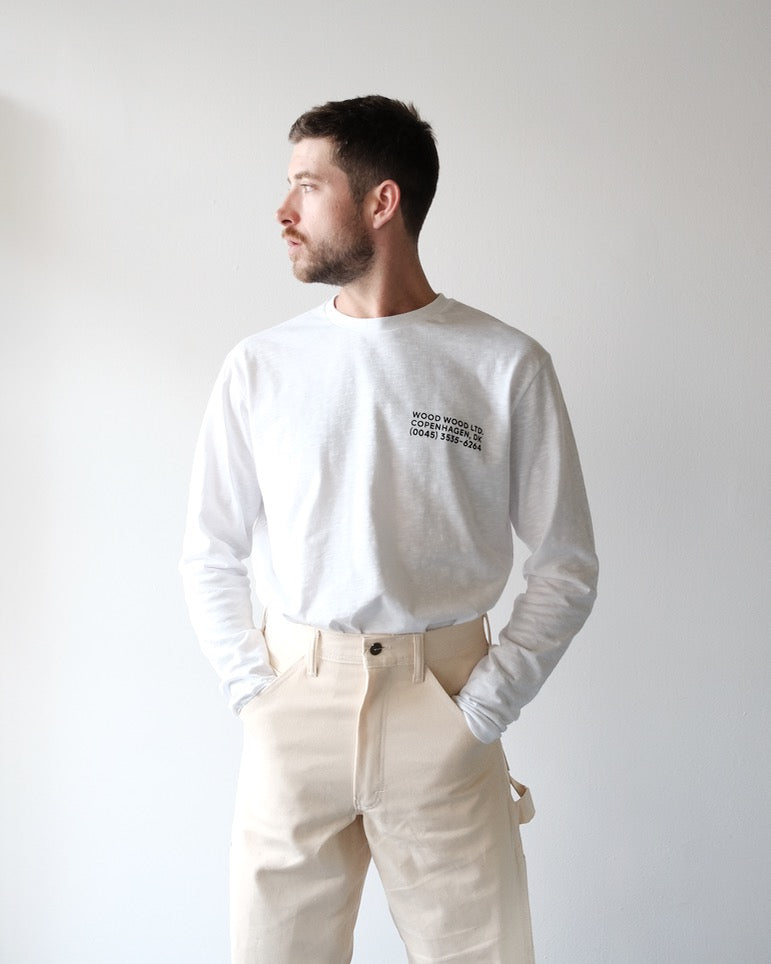Peter Long Sleeve, White