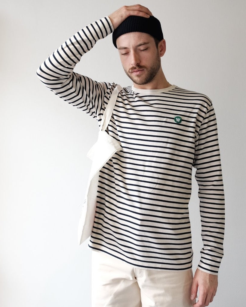 Mel Long Sleeve Shirt, Stripe