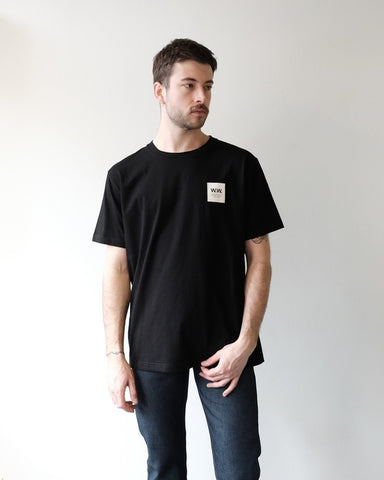 Wood Wood Box Tee, Black