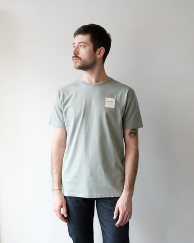 Wood Wood Box Tee, Mint