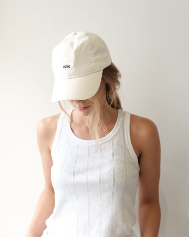 Low Profile W.W. Cap, Off White