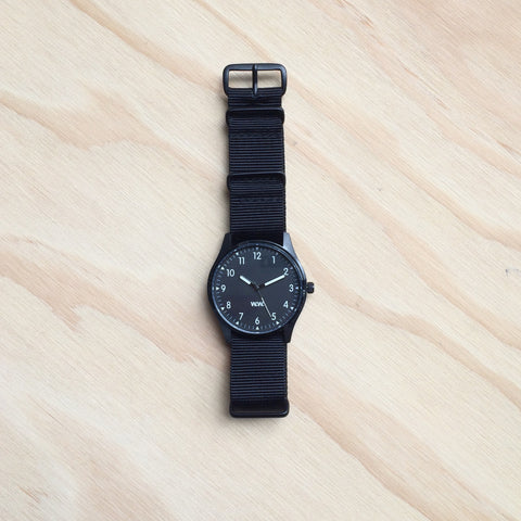 WW Watch Black