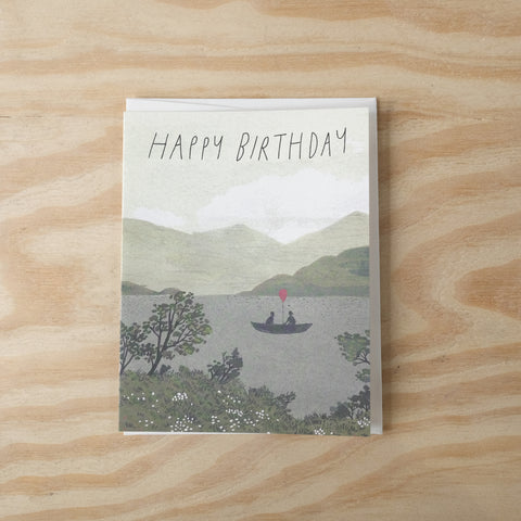 Boat Birthday Card
