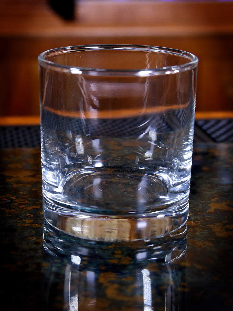 Double Old Fashioned Glass, Wide Mouth