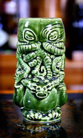 Cthulhu Tiki Mug, by Horror In Clay
