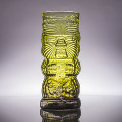 Warrior Glass Tiki Mug, 16 oz.