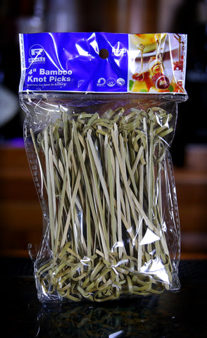 Bamboo Cocktail Garnish Picks / 100-Pack
