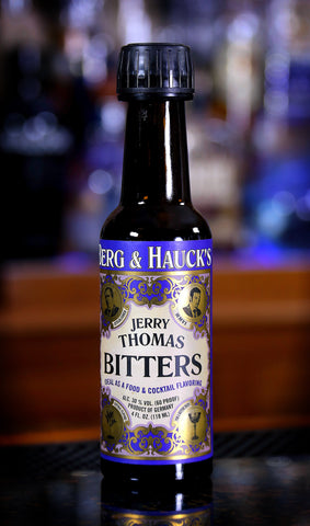 Berg & Hauck's Jerry Thomas Bitters, 4 oz